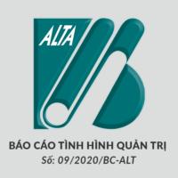 ALTA Bao cao quan tri cong ty ban nien 2020