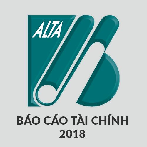 ALTA bao cao tai chinh rieng quy iii 2018