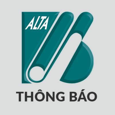 ALTA Thong bao